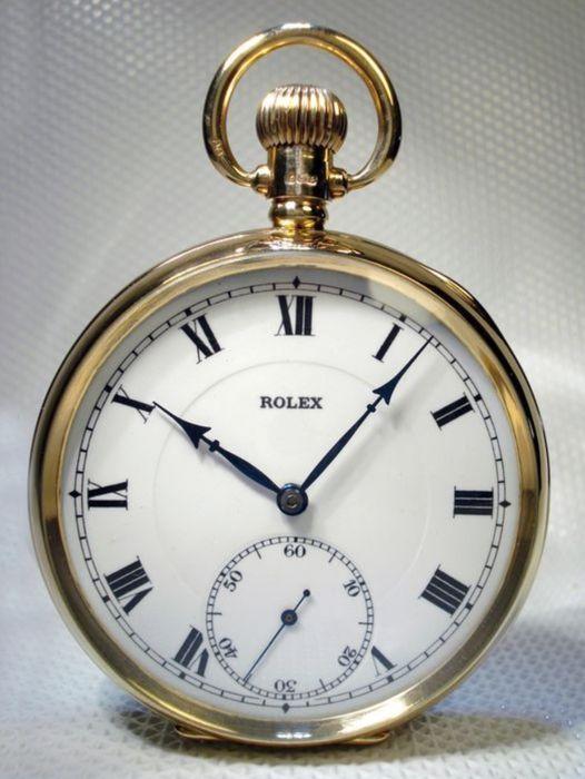 Rolex – pocket watch – 1924 - Catawi