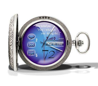Digital Pocket Watch | Digital pocket watch, Tech watches, Tech .