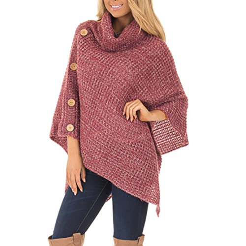 Poncho Sweater: Amazon.c