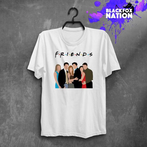 Pivot Friends TV Show Graphic Printed Tee Tumblr Short Sleeve .