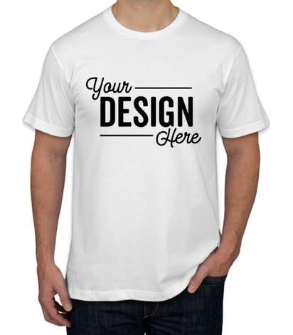 Design Custom Printed American Apparel Jersey T-Shirts Online at .
