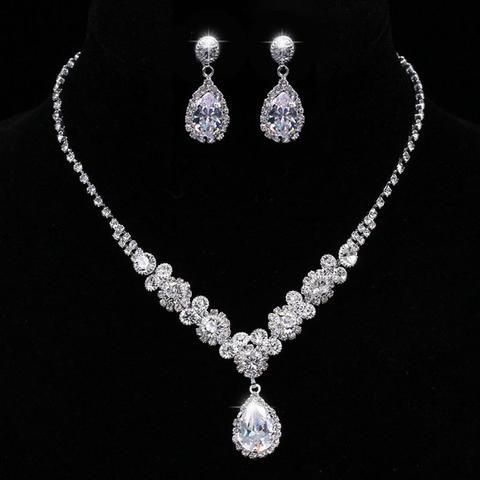 Bridal Prom Jewelry Set JEW-AL700 – Bouquets by Nico