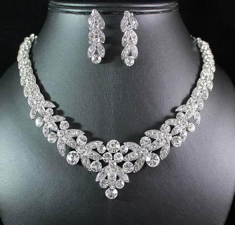 Bridal Prom Jewelry Set JEW-900A – Bouquets by Nico
