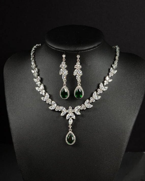Prom jewelry set Necklace Earrings set Prom jewelry gift | Et