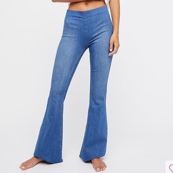 Free People Jeans | Penny Pull On Flare | Poshma