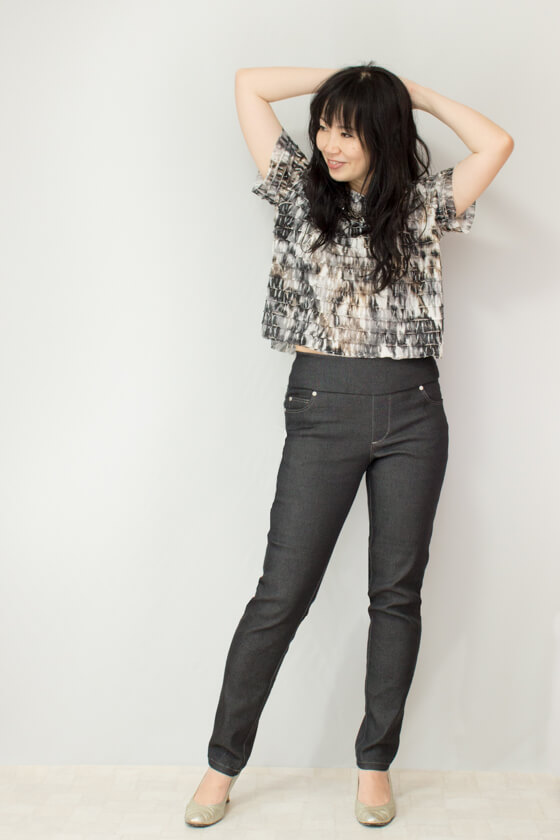 Cat in a wardrobe: Mountain View Pull-On Jeans - DIY Butterfly and .