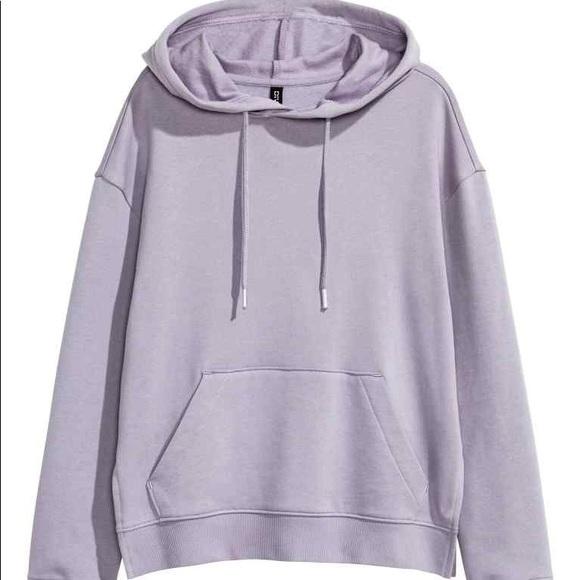 H&M Tops | Pastel Purple Hoodie | Poshma