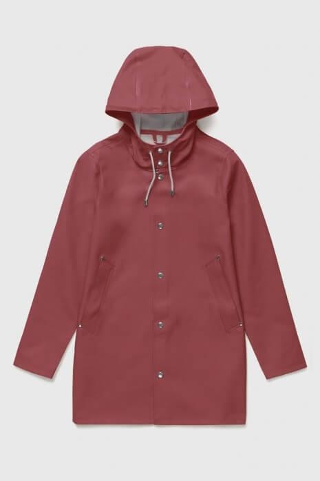 Stockholm Red Raincoat | Stutterheim™ U