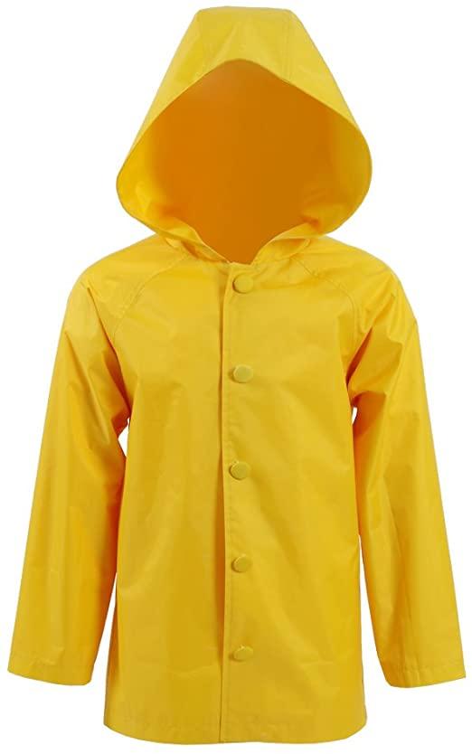 Amazon.com: Star Flower Little Girls Rain Jacket Coats with Hood .
