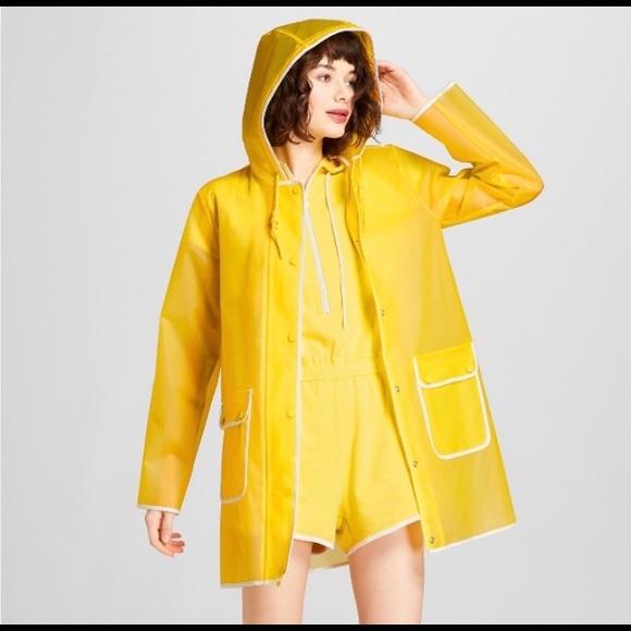 Hunter for Target Jackets & Coats | Womens Yellow Rain Coat | Poshma