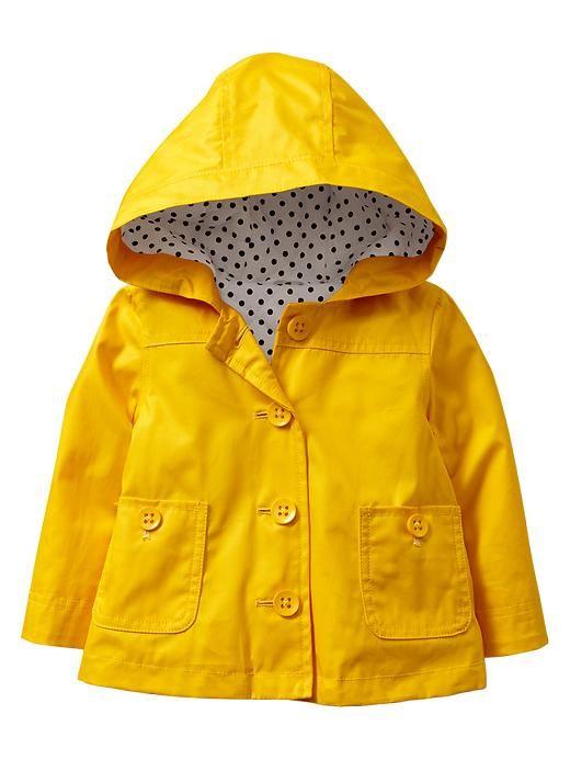 Hot on the high street: Gap Kids raincoat | Toddler rain boots .
