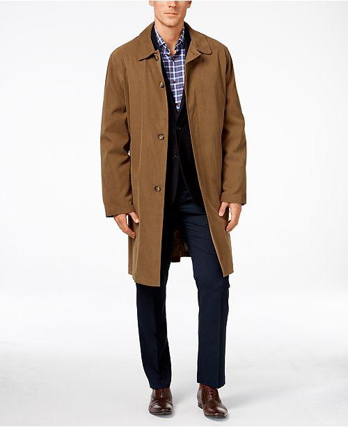 London Fog Durham Classic-Fit Raincoat & Reviews - Coats & Jackets .