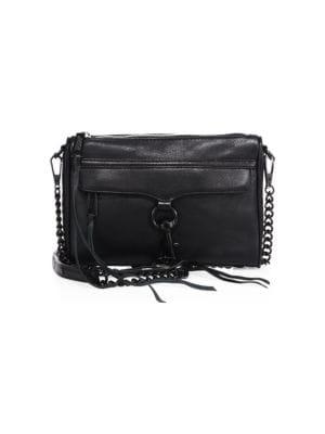 Rebecca Minkoff - Mini M.A.C. Leather Crossbody Bag - saks.c