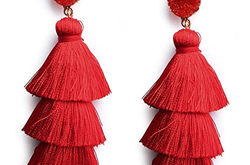 Red Earrings: Amazon.c