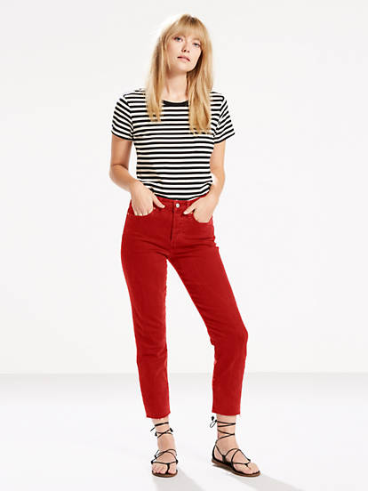 Wedgie Fit Women's Jeans - Red | Levi's®