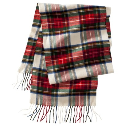 Accessory Friday: tartan scarf - An Unwritten Li