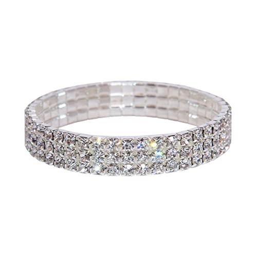 Rhinestone Bracelets: Amazon.c