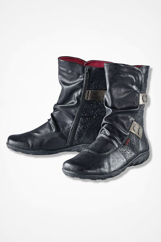 """Liv"""" Boots from Remonte by Rieker®, Black 
