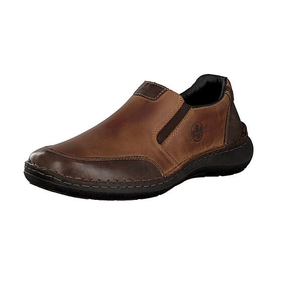 Rieker men slip-on shoe brown 03054-