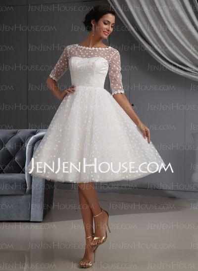 rockabilly clothing | Rockabilly wedding dresses | Knee length .