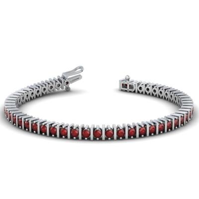 Ruby Tennis Bracelet (2.50ctt