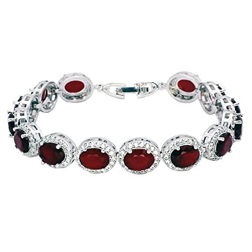 Ruby Bracelets: Amazon.c