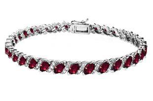 Ruby Bracelet: Amazon.c