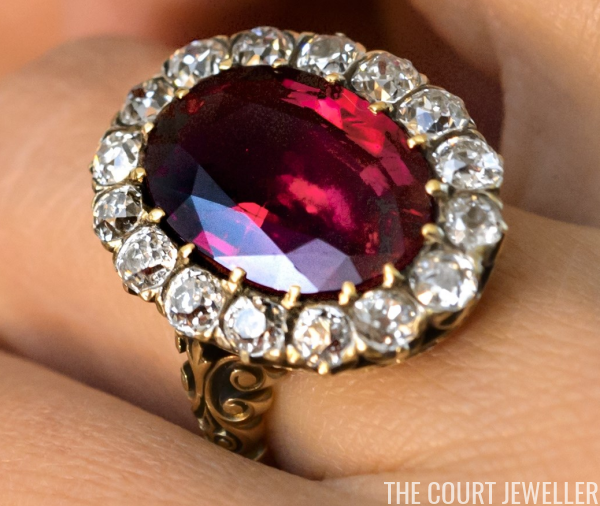 The Sunday Ring: Queen Marie-Jose's Ruby Ring | The Court Jewell