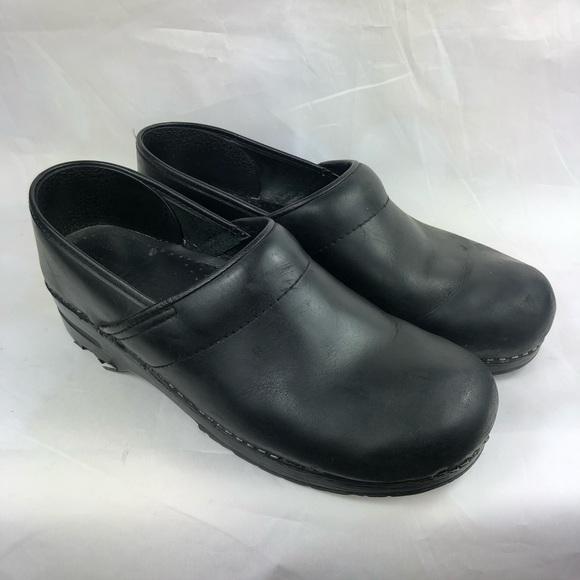 Sanita Shoes | Clogs Size 43 Leather Black Nurse | Poshma