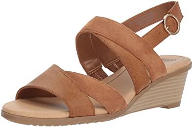 Amazon.com | Dr. Scholl's Shoes Women's Grace Sandal, Saddle .