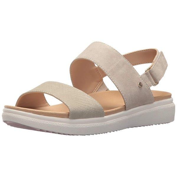 Shop Dr. Scholl's Shoes Womens F4567M2 NuBuck Open Toe Casual .