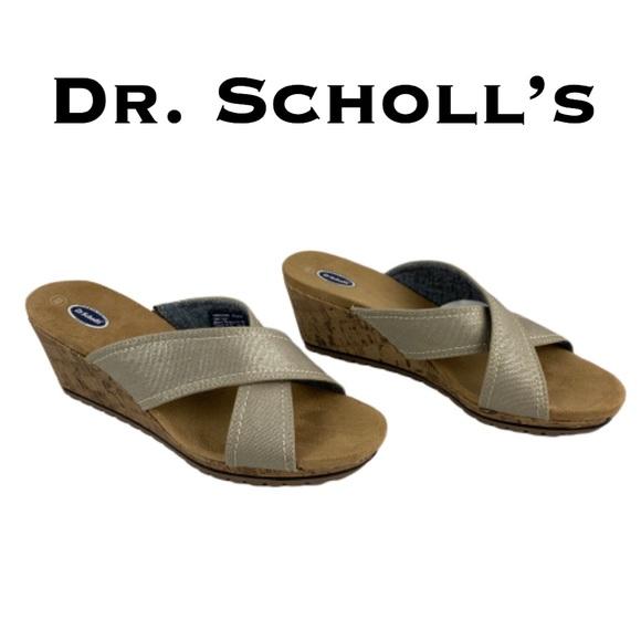 Dr. Scholl's Shoes | Dr Scholls W Ds Boardwalk Metallic Sandals .