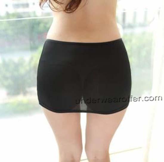 Super Sexy Women Mini Skirts Transparent Thin Dress Tight Slim .