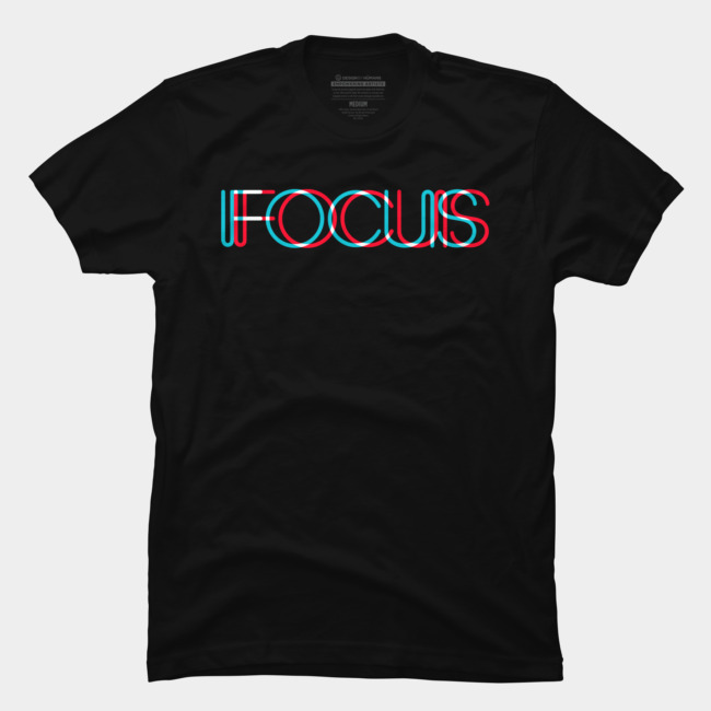 FOCUS T Shirt By BLACKSTONE Design By Huma