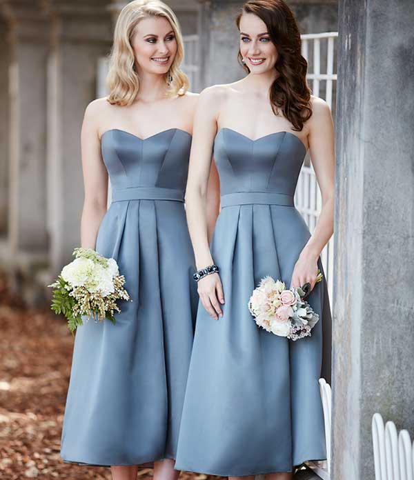 Short Bridesmaid Dresses | Sorella Vita Bridesmaid Gow