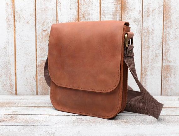 Mens bag shoulder bag men Leather bag Men's crossbody | Et