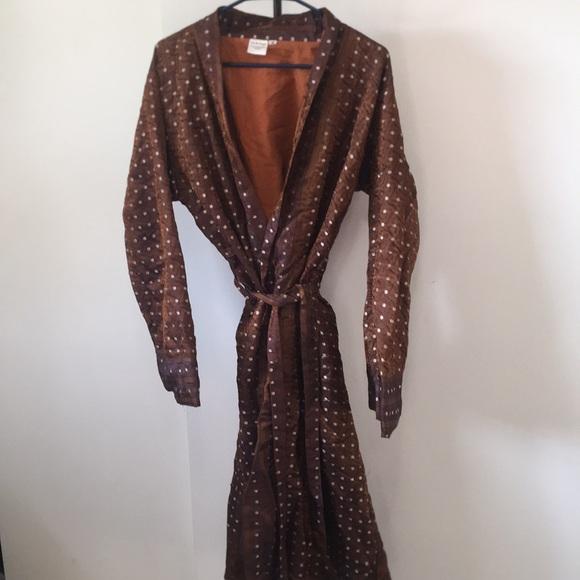 Other   Mens Silk Robe   Poshma