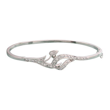 Silver Silver bangles-and-bracelets - Vendee Fashion - 10963