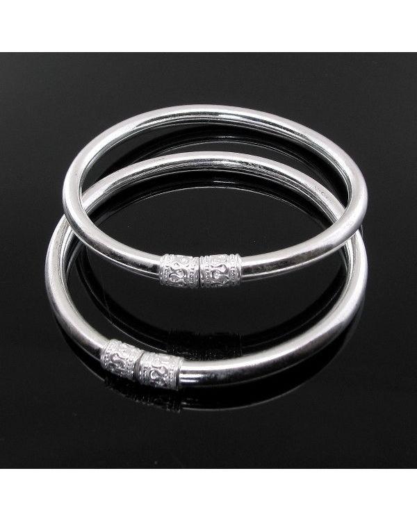 Pin on Silver Chain / Bracel