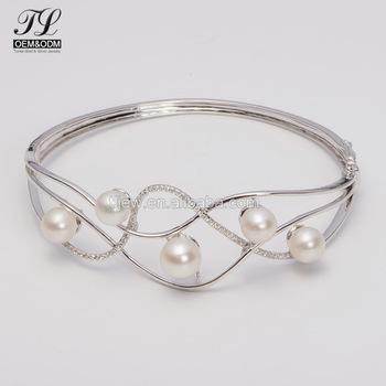 Fashion Diamond Simulants Indian Silver Bangles+bangles Women .