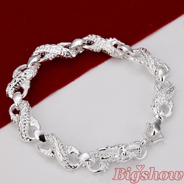 silver bracelets wom