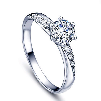 La Perfection AAA Cubic Zirconia Sterling Silver 925 Engagement .