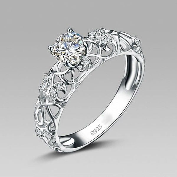 How to choose Silver Engagement Rings - StyleSkier.c