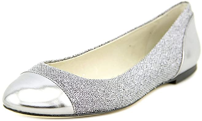 Amazon.com | MICHAEL Michael Kors Shala Ballet Women US 6.5 Silver .