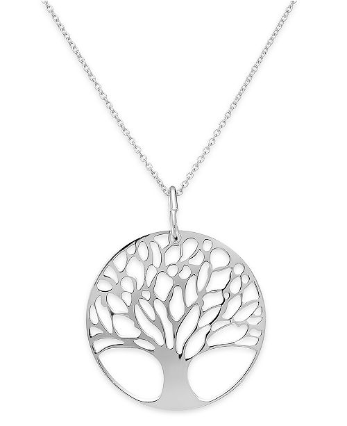 Giani Bernini Sterling Silver or Sterling Silver Family Tree .