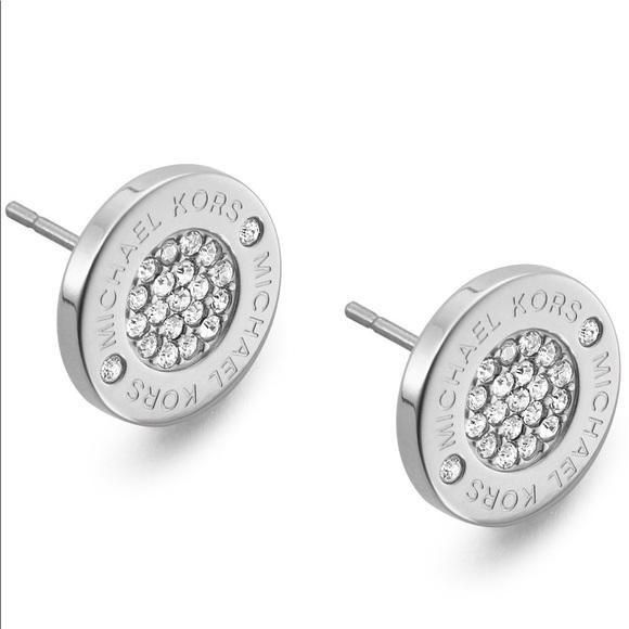 Michael Kors Jewelry | Silver Stud Earrings | Poshma