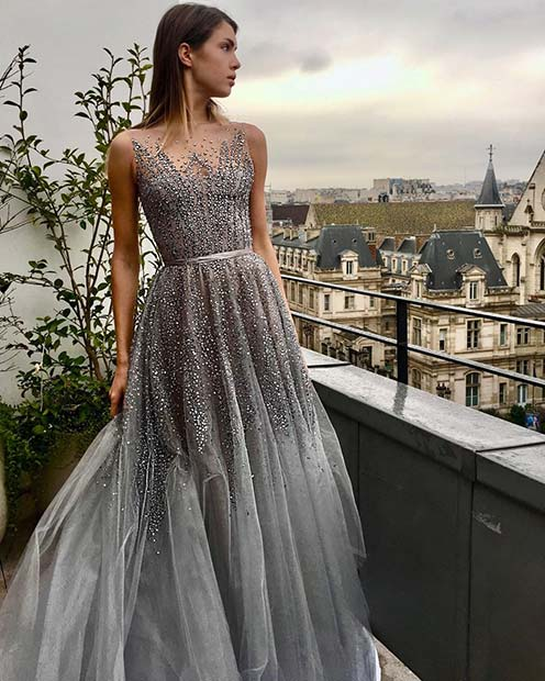 Silver Wedding Dresses That Will Drive You Crazy - crazyfor