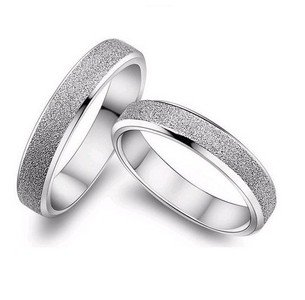 2016 hot sell fashion lovers`couple rings/925 sterling silver .