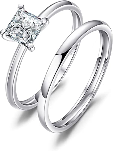 Amazon.com: JewelryPalace Wedding Rings Wedding Bands Solitaire .
