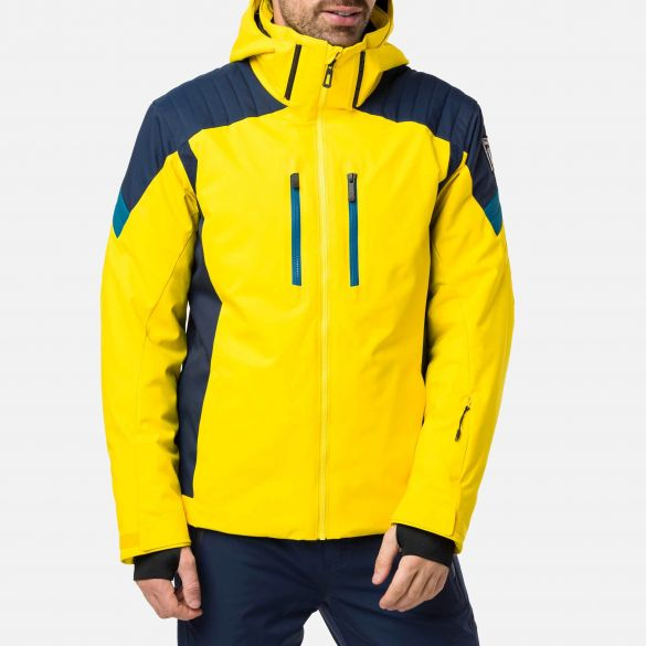 Rossignol Men's Ski Ski Jacket   Ski Jacket Sunny Yellow   Rossign
